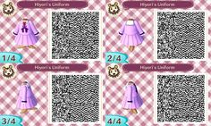 Noragami Hiyori's Uniform :: http://kalistaaliceraine.tumblr.com/post/82442335399/noragami-cosplay-qr-codes-okay-so-im-in-love