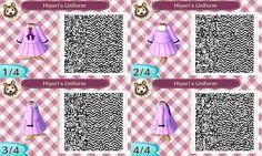 Noragami Hiyori's Uniform :: http://kalistaaliceraine.tumblr.com/post/82442335399/noragami-cosplay-qr-codes-okay-so-im-in-love