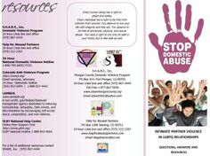 dating agency brochure Mnadv is the state domestic violence coalition whose common purpose is reducing intimate partner & family violence and its harmful effects on our citizens.
