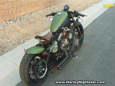 Nightster to bobber/board tracker/Cafe Racer I Don't Know! Harley Nightster, Harley Davidson Sportster, Harley Davidson Forum, Custom Sportster, Cool Bikes, Bobber, Board, Motorbikes, Youtube