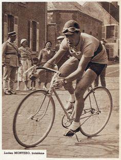GP des Nations 1934, 16 settembre. Luciano Montero (1908-1993), 3° classificato [Match L'Intran]