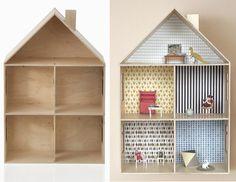 DIY domek dla lalek