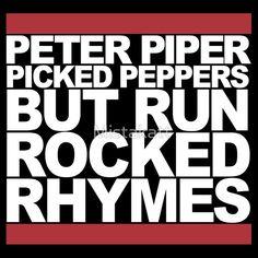 Run Rocked Rhymes