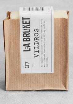 LA Bruket soap #packaging