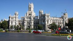"Plaza de Cibeles ""Plaza de Cibeles"" madrid meydanları, madrid tarihi yerler, madrid top10, madridde gezilecek yerler https://jogwag.com/?p=3591"