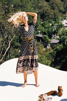 Moondance Maxi Dress in Sandalwood