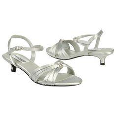 Dyeables Fiesta Shoes (Silver) - Women's Wedding Shoes - 5.0 B