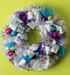 Worth Pinning: Post-Holiday Winter Wreath