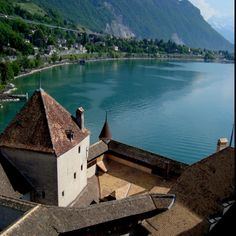 Chillon Castle / Château de Chillon, Montreux Riviera