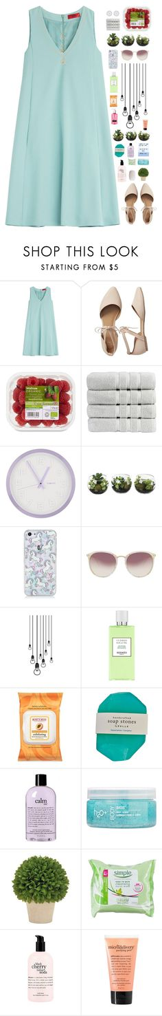 """I'll wrap my hands around your neck so tight with love, love"" by spottdrossel ❤ liked on Polyvore featuring HUGO, Gap, Christy, DecoMates, Linda Farrow, Hermès, Burt's Bees, philosophy, H2O+ and The Body Shop"