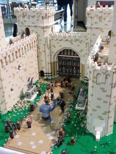 Lego Castle Scene