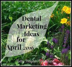 #OralCancer Awareness Month - #Dental marketing ideas for april