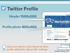Twitter Profile Size Guide