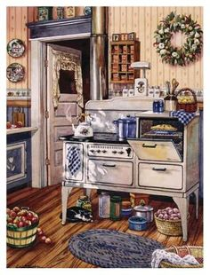 Comfy Kitchen ~ Erin Dertner