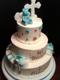 Baptisim Cake By Jody130 on CakeCentral.com
