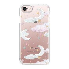 Candy Cotton Clouds - iPhone 7 Case And Cover ($35) ❤ liked on Polyvore featuring accessories, tech accessories, iphone case, apple iphone case, iphone cases, iphone cover case and slim iphone case