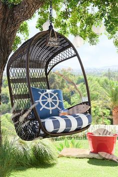 Here's our favorite way to hang out. Start with an all-weather Pier 1 Swingasan® to create the perfect spot for reading, relaxing or lifting your spirits.