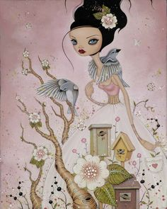 caia koopman | Lovely paintings by Caia Koopman from California. She is actually one ...