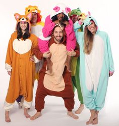 Kigurumi Shop is doing a giveaway for three of their amazing onesies. They're super cute! Check them out on Facebook, Twitter, or Pinterest for more details!