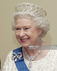 Queen Elizabeth Ii & The Duke Of Edinburgh Visit The Baltic States.State Banquet At The House Of The Brotherhood Of Blackheads In Tallinn, Estonia. Get premium, high resolution news photos at Getty Images Hm The Queen, Royal Queen, Her Majesty The Queen, Royal Royal, Queen Queen, Royal Crowns, Royal Tiaras, Alexandra Feodorovna, Queen Elizabeth Tiaras