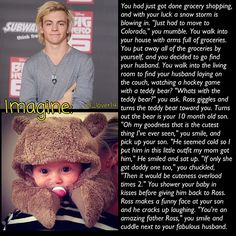 I want him as a brother so i will never lose him and i will be in the band!! Haha don't steal my idea!! No seriously!!