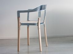 Steelwood Galva Chair, 2013 Ronan Bouroullec, Erwan Bouroullec www.bouroullec.com via magisdesign.com  for #form #material