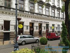 The California Coffee Company, an American style coffee shop in Budapest, Hungary.