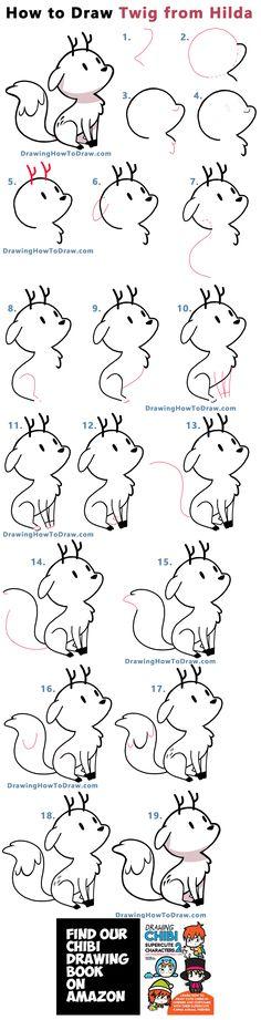Flower Drawing Tutorials, Drawing Tutorials For Kids, Drawing For Beginners, Drawing For Kids, Easy Doodles Drawings, Easy Doodle Art, Simple Doodles, Cute Little Drawings, Cute Animal Drawings