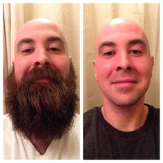 After about 8 months of being bearded, I decided it was about time for a shave. Feels nice. I feel naked, but fresh. #beard #beardsonbeardsonbeards #shave #springshave #springcleaning #shavebeforeandafter #beardbeforeandafter #beforeandafter #beardbros #nofilter