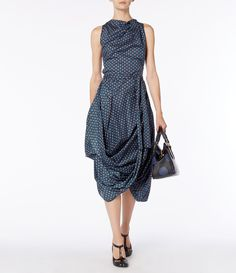 Vivienne Westwood Anglomania Blue Eight Dress