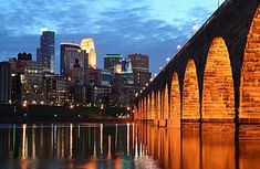 Minneapolis, is so beautiful at night.  Google Image Result for http://thumbs.imagekind.com/member/6a325b49-6ef1-4646-a174-2009ccbc34eb/uploadedartwork/650X650/f680726a-1f39-4ade-982f-d204d107f32f.jpg