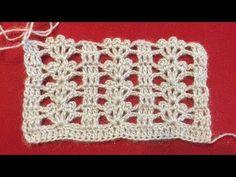 Crochet Motifs, Crochet Stitches Patterns, Crochet Chart, Knitting Patterns Free, Stitch Patterns, Crochet Hairband, Crochet Collar, Crochet Bracelet, Diy Crafts Love