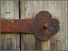 Zwei alte Türen mit rostigen Details 10  by fotomanni, Flickr - Photo Sharing!