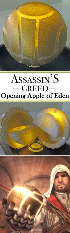 Model your own opening apple of Eden from Assassin's Creed!