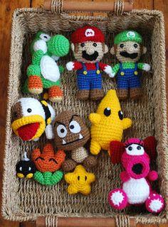 Crochet Mario Character