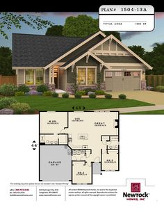 Plan #1504-13A - Newrock Homes