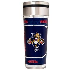 Florida Panthers Insulated Travel Tumbler