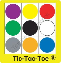 ESL Games Emotions Tic Tac Toe