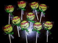 #ninja turtle oreo pops