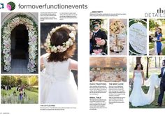 Gorgeous wedding feature in @everafter_magazine with Nicki Macfarlane flowergirl dress from @stellinacutecouture. Thank you for tagging @formoverfunctionevents.  O N C E | U P O N | A | T I M E  that time. when you get to work for a couple who are thoughtful and kind and just a bit very fabulous. that time. And their families are so warm you wish they'd adopt you. that time. when a year of dreaming and working and creating and working and working and working comes together for a seamless…