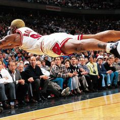 Dennis Rodman - Pacers at Bulls - March 7, 1997