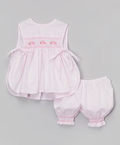 Pink Fish Top & Bloomers - Infant & Toddler