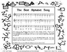 The Best Alphabet Song Creative Teaching, Teaching Tools, Teaching Ideas, First Grade Teachers, Elementary Teacher, Sight Words List, Alphabet Songs, Reading Comprehension Activities, Arts Integration