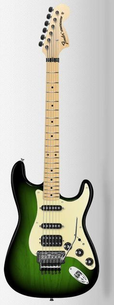 Every 6-7 years I feel a need to remind myself just how badly I suck at being a musician. I feel the itch coming back. And if I forget to suck at it next time around ... this custom Fender Strat will be mine.