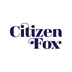 CITIZEN FOX San Francisco plant-based restaurant. Opening in 2016. Interactive Design, Logo Ideas, Citizen, Wine Recipes, Signage, Plant Based, San Francisco, Fox, Restaurant