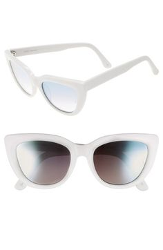 02c1d71f0a SUNDAY SOMEWHERE  Laura  54mm Cat Eye Sunglasses