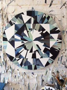 Painter Kurt Pio - Shay B. Studio #painting #diamond