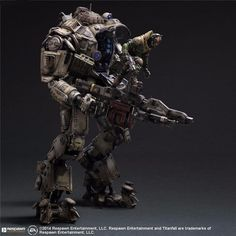 Cheap playarts kai, Buy Quality play arts kai directly from China arts kai Suppliers: Titanfall Action Figure Play Arts Kai Atlas PVC Toys Anime Games Model Titanfall Atlas Playarts Kai Cyberpunk, Kai, 3d Mode, Robot Action Figures, Titans, Figure Model, Cultura Pop, Concept Art, Cool Things To Buy