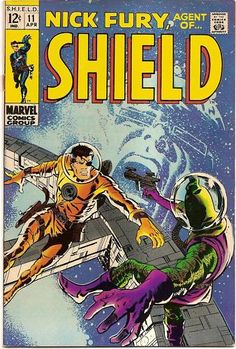 Nick Fury Agent of Shield marvel comic book cover art by Barry… Avengers Comics, Marvel Comic Books, Comic Books Art, War Comics, Marvel Art, Silver Age Comics, Nick Fury, Comic Book Artists, Comic Book Characters
