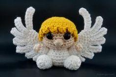Amigurumi Crochet Angel Pattern - New Ideas Angel Crochet Pattern Free, Crochet Snowflake Pattern, Crochet Angels, Christmas Crochet Patterns, Crochet Snowflakes, Crochet Ornaments, Crochet Christmas, Dishcloth Knitting Patterns, Knit Dishcloth
